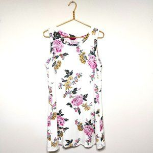 Joules Ava Floral Sleeveless Woven Dress 12